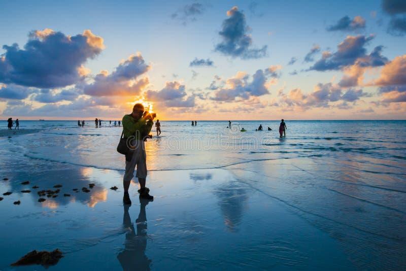 Пляж Майк стоковые изображения