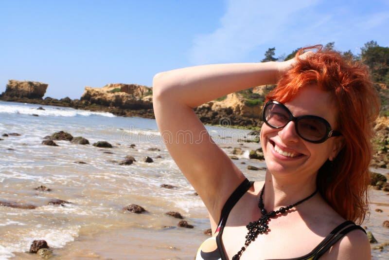 пляж малыша стоковые фотографии rf