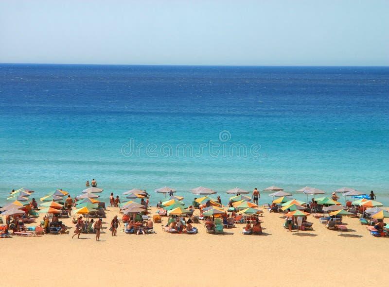 пляж мечтательный стоковая фотография