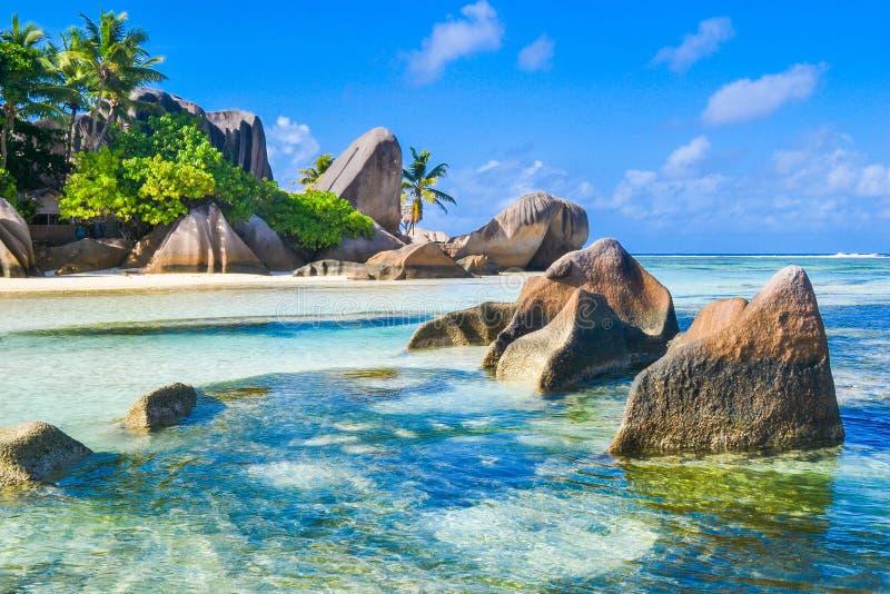 Пляж мечты Сейшельских островов