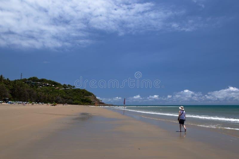 Пляж 4 миль, Port Douglas, северный Квинсленд стоковая фотография rf