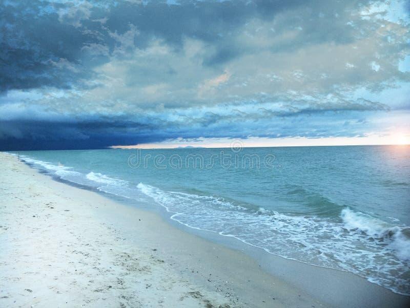 Пляж на южном Таиланда стоковые фото