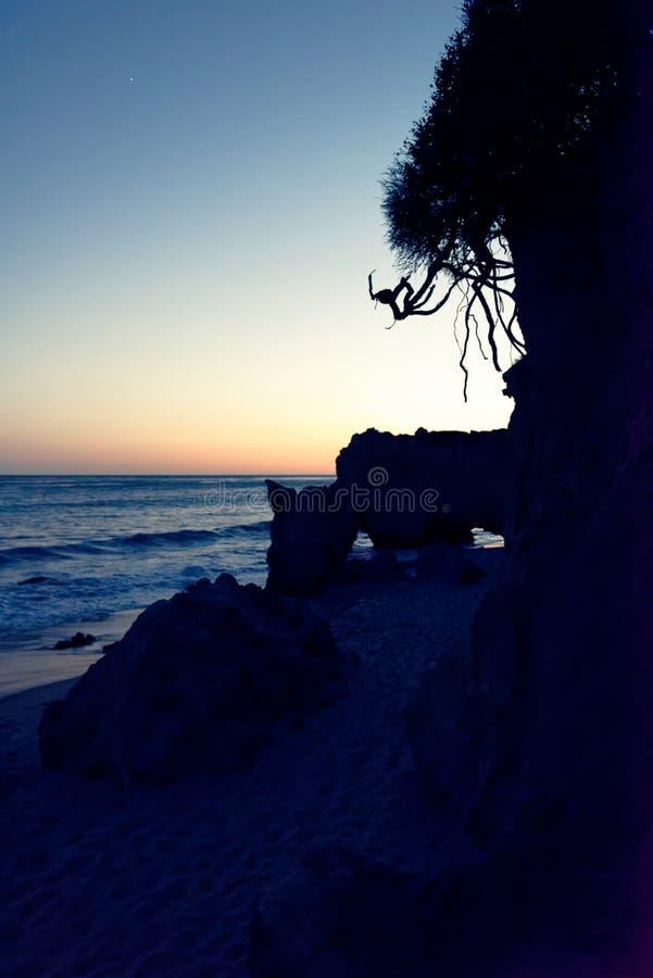 Пляж положения El матадора стоковые фото