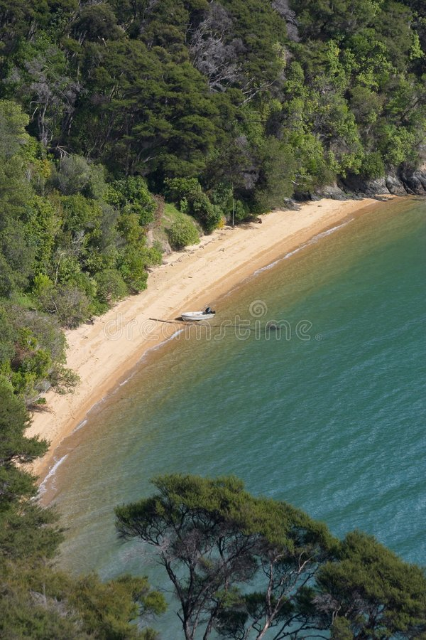 пляж приватный стоковая фотография rf