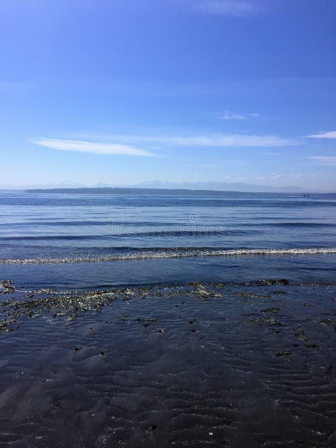 Пляж Ричмонда, штат Вашингтон стоковые изображения
