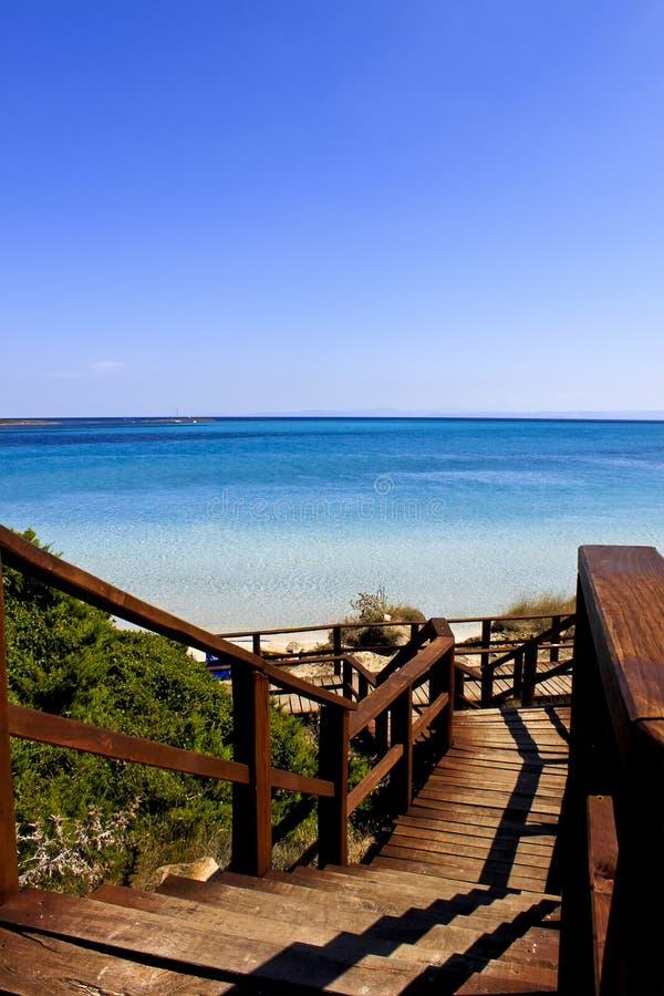 пляж Сардиния стоковое фото rf