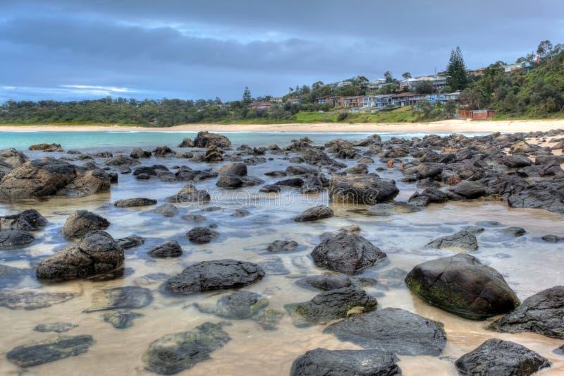 пляж спокойный стоковые фото