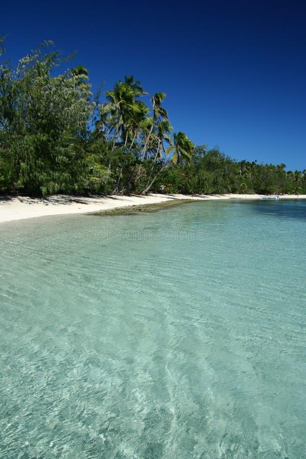 пляж Тихий океан Самоа алебастра южный стоковые фото