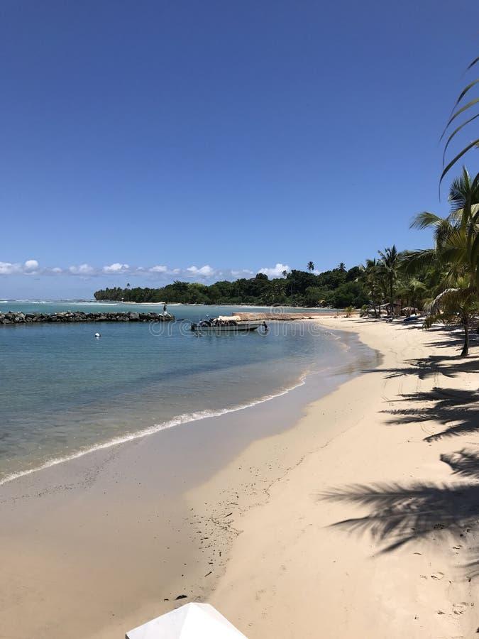 Пляж Тобаго стоковое изображение