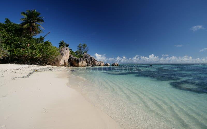 Download пляж тропический стоковое фото. изображение насчитывающей тропическо - 6855906