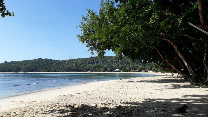 Пляж Филиппины Cagwait стоковая фотография