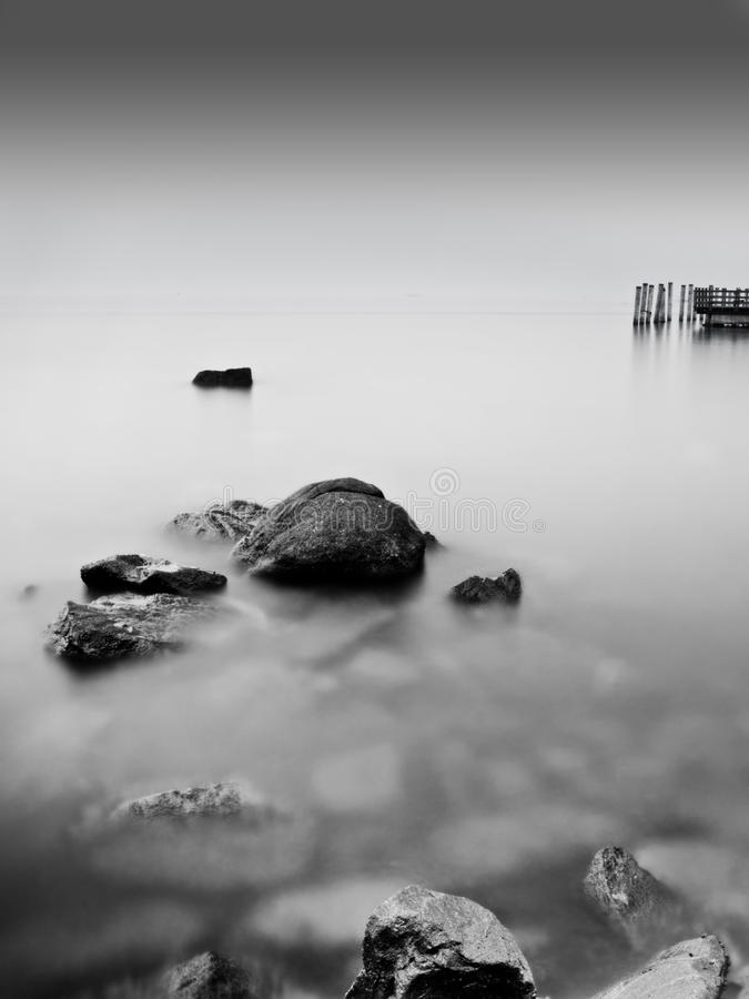 пляж 02 anyer стоковые изображения rf