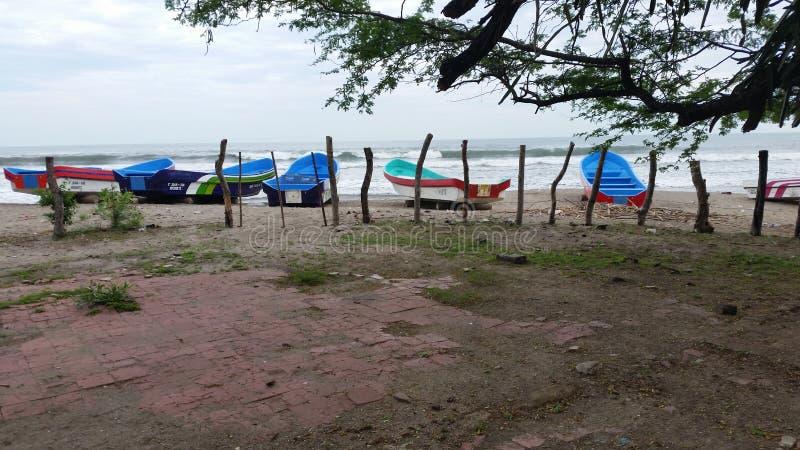 Пляж Boquita Ла стоковые фото