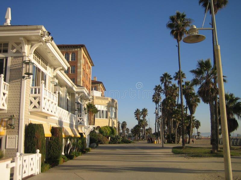 пляж california l venice стоковые изображения rf