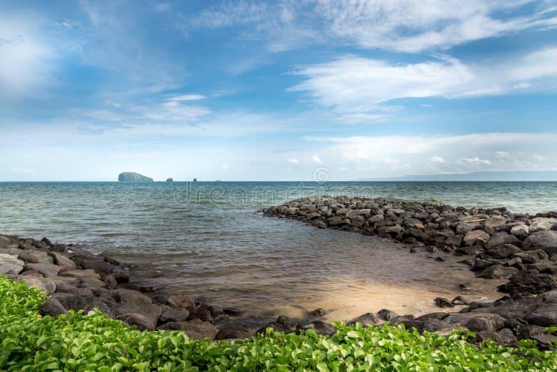 Пляж Candidasa стоковые изображения