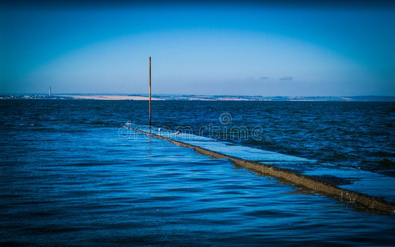 Пляж Chalkwell стоковая фотография