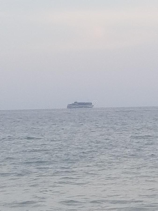Пляж FL стоковое изображение