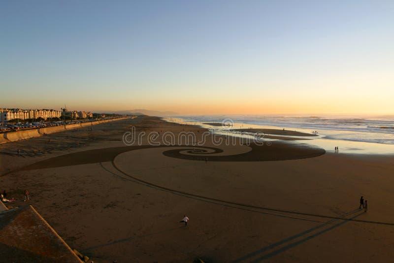 пляж francisco san стоковое изображение