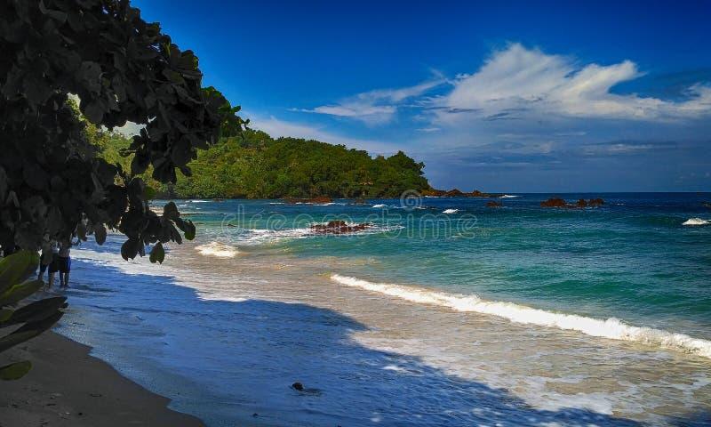 Пляж Indrayanti стоковые фото