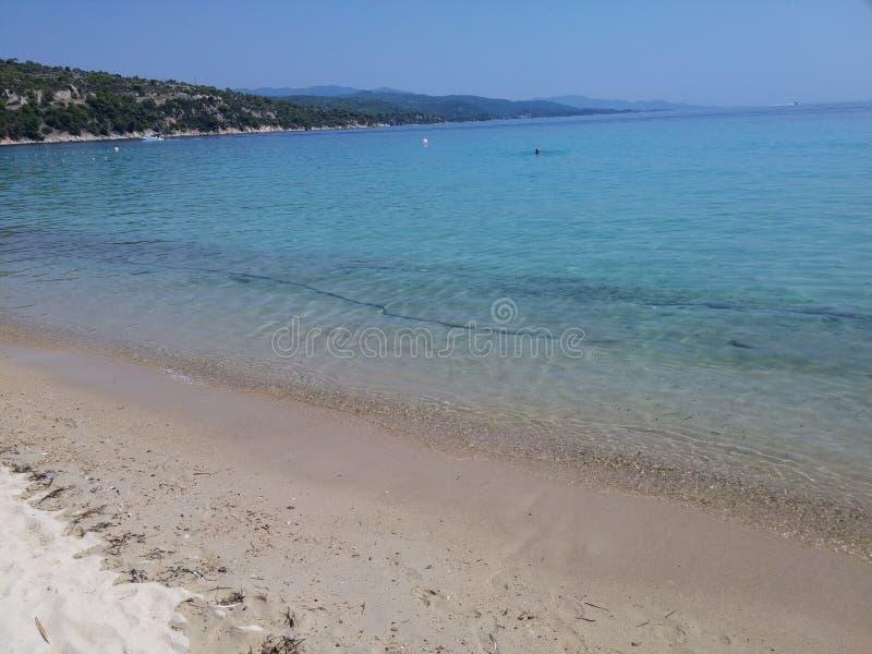 Пляж Johannes Святого стоковые изображения rf