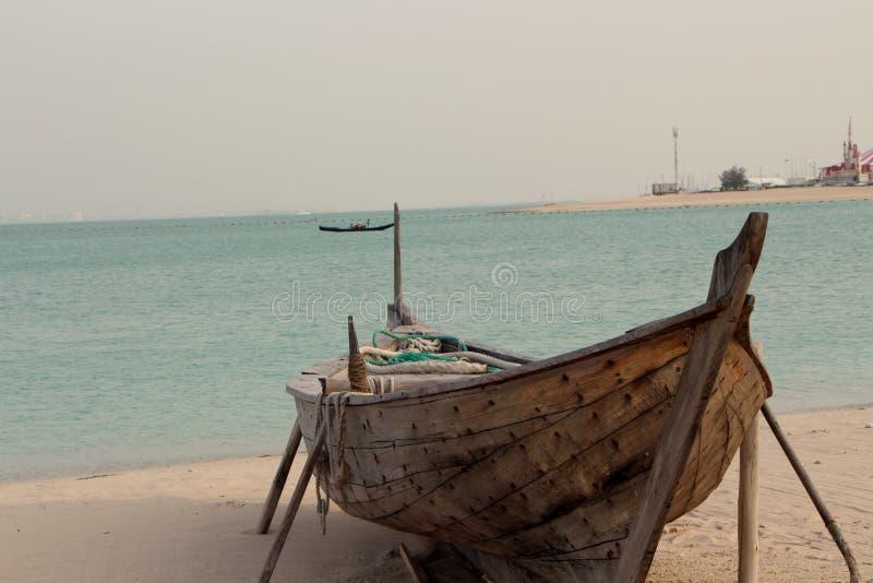 Пляж Katara стоковое изображение rf