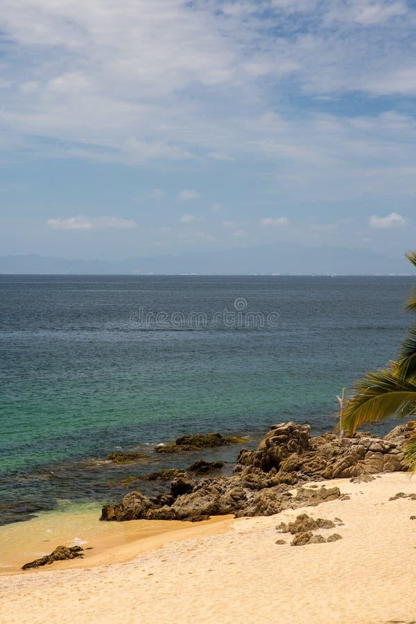Пляж Las Caletas приключений Vallarta стоковая фотография