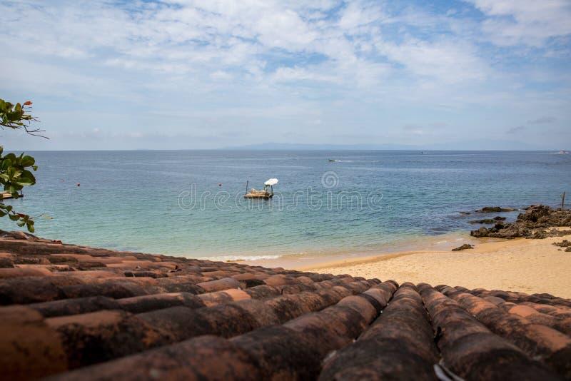 Пляж Las Caletas приключений Vallarta стоковые фотографии rf