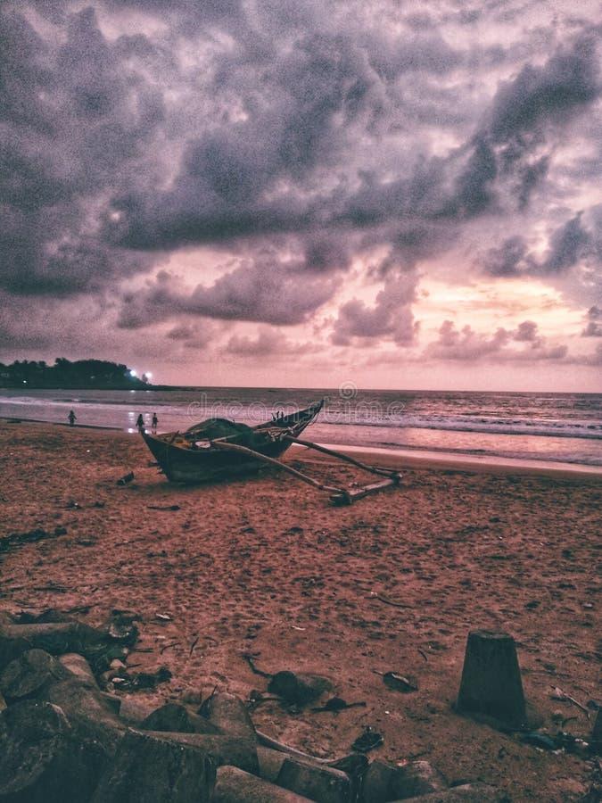 Пляж Malvan стоковое фото