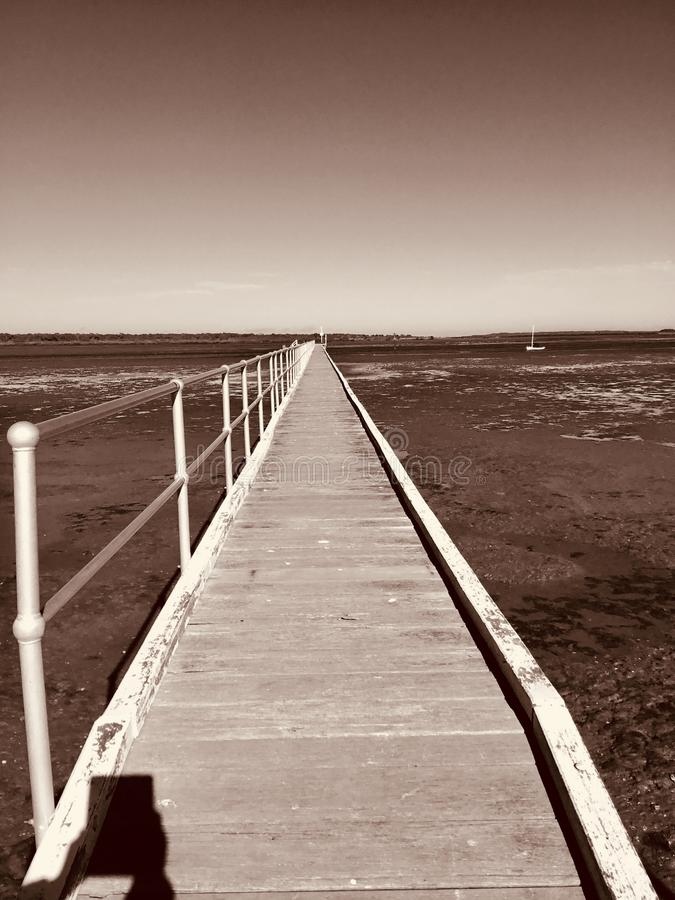 Пляж McLoughlins, Виктория, Австралия стоковая фотография rf