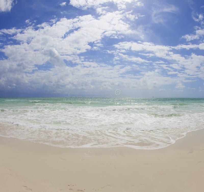пляж miami s южный стоковое изображение