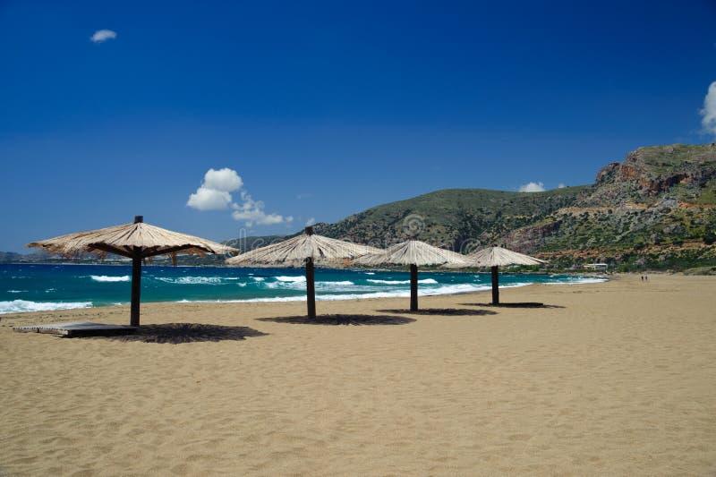 пляж nikolaos ажио стоковые изображения rf
