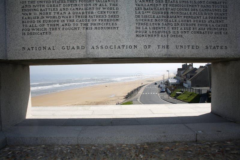 пляж omaha стоковая фотография rf
