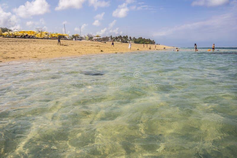 Пляж Pantai Pandawa bali Индонесия стоковые фото