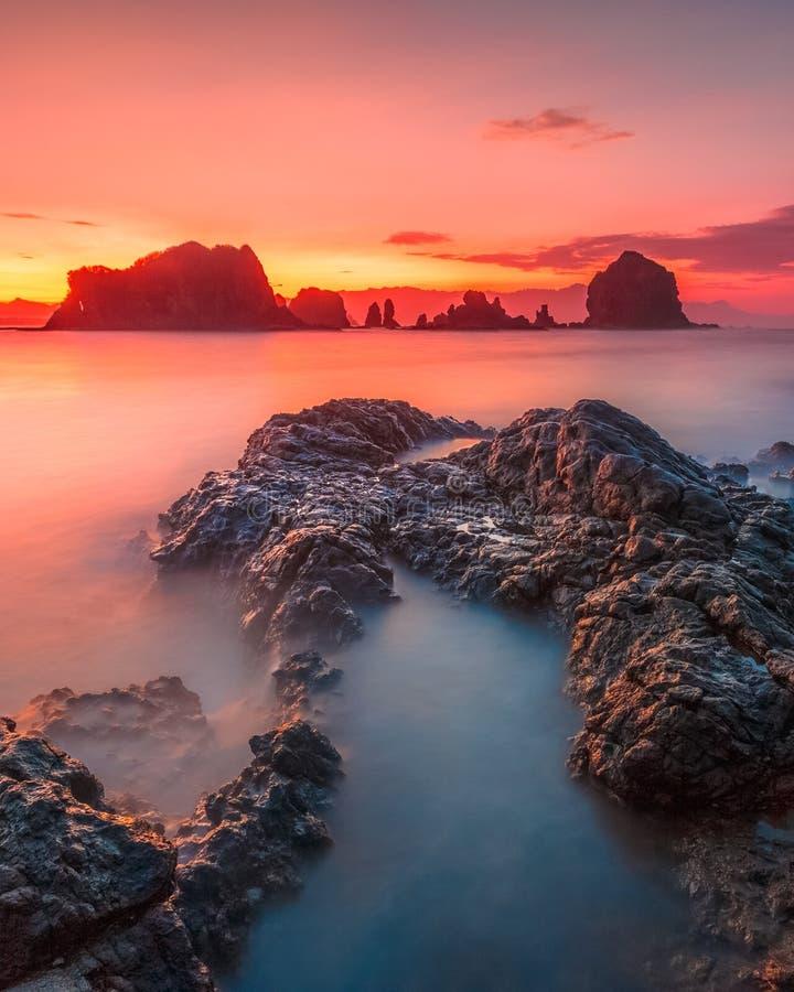 Пляж Payangan стоковое фото