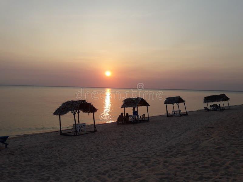 Пляж Pindobal стоковое изображение rf