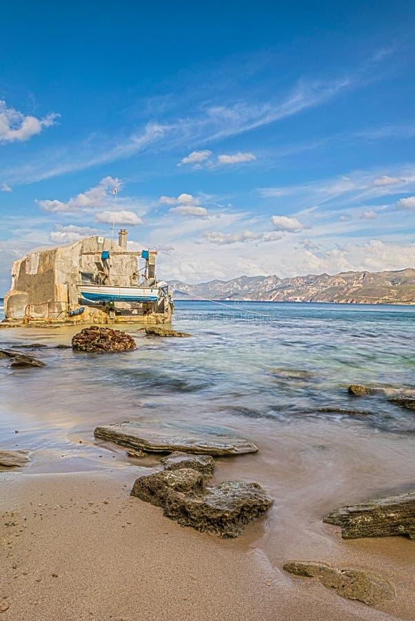 Пляж Portopaglia стоковое изображение rf