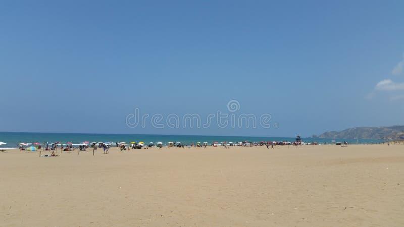 Пляж Saidia, Марокко стоковая фотография rf