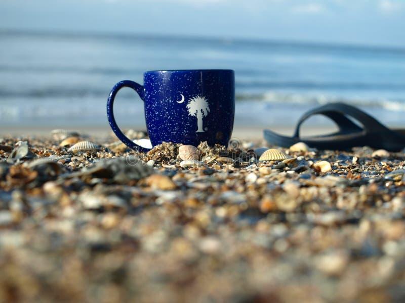 Пляж SC стоковое фото rf