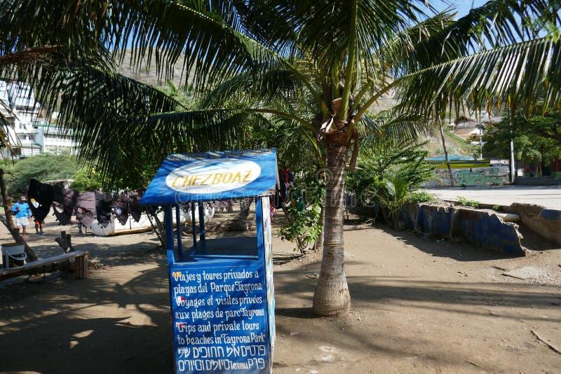 Пляж Taganga, Santa Marta стоковое фото rf