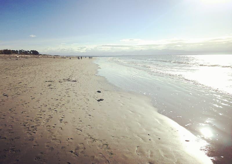 пляж tahuna снова стоковое изображение rf