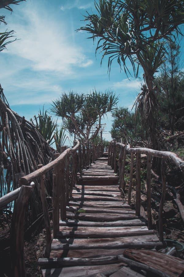 Пляж Timang на юге Ява стоковое фото