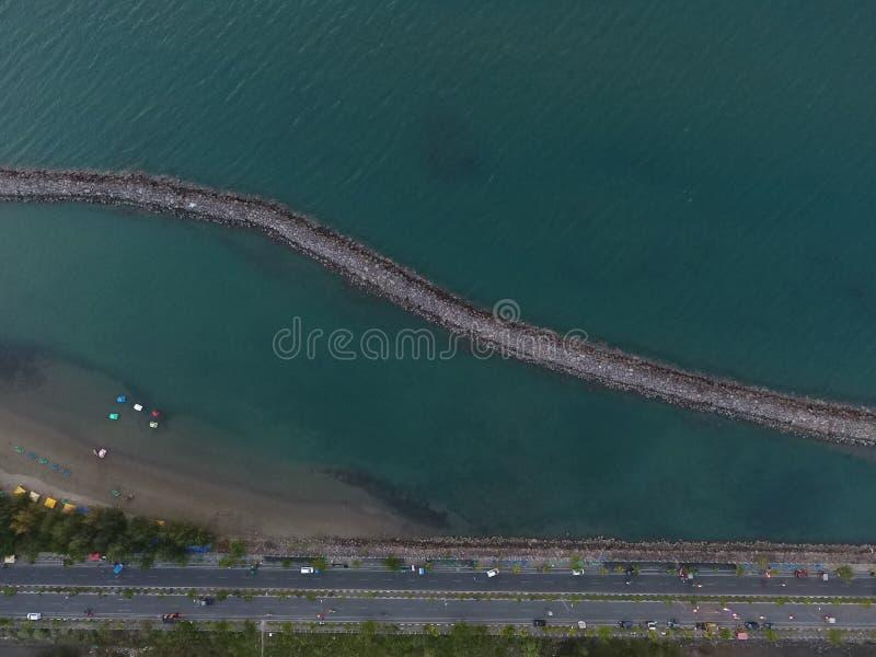 Пляж Ulee Lheue стоковые изображения rf