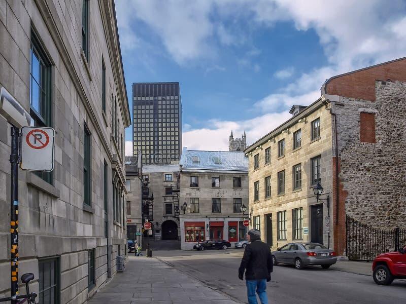Пляс Руаяль Montréal стоковое фото rf