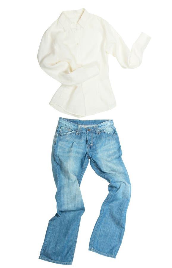 Побегите отсутствующие одежды стоковое изображение