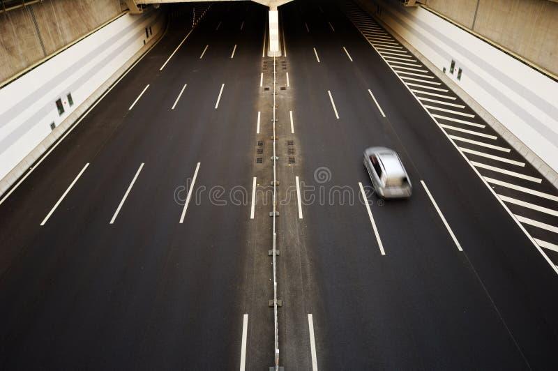побегите тоннель стоковые изображения rf