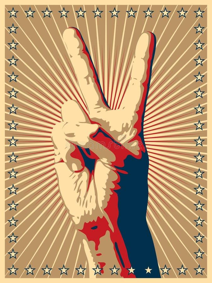 победа знака руки жеста бесплатная иллюстрация
