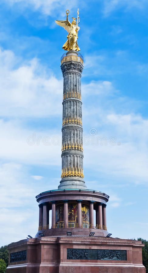 победа колонки berlin gemany стоковое фото rf
