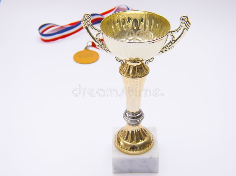 победитель трофея стоковая фотография
