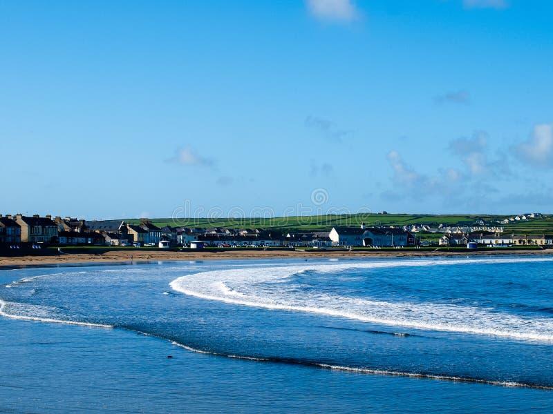 Побережье в Ирландии стоковое фото rf
