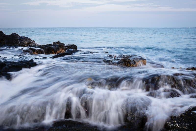 Побережье 9 Гаваи стоковые фотографии rf